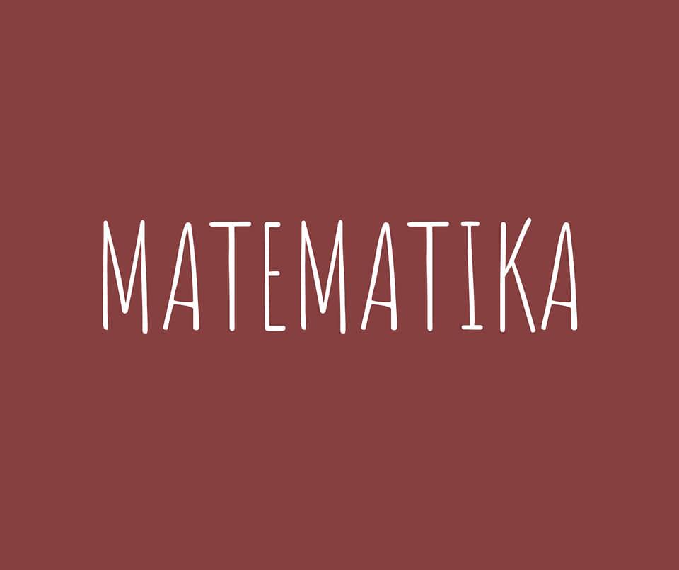 Matematika - 2. stupeň